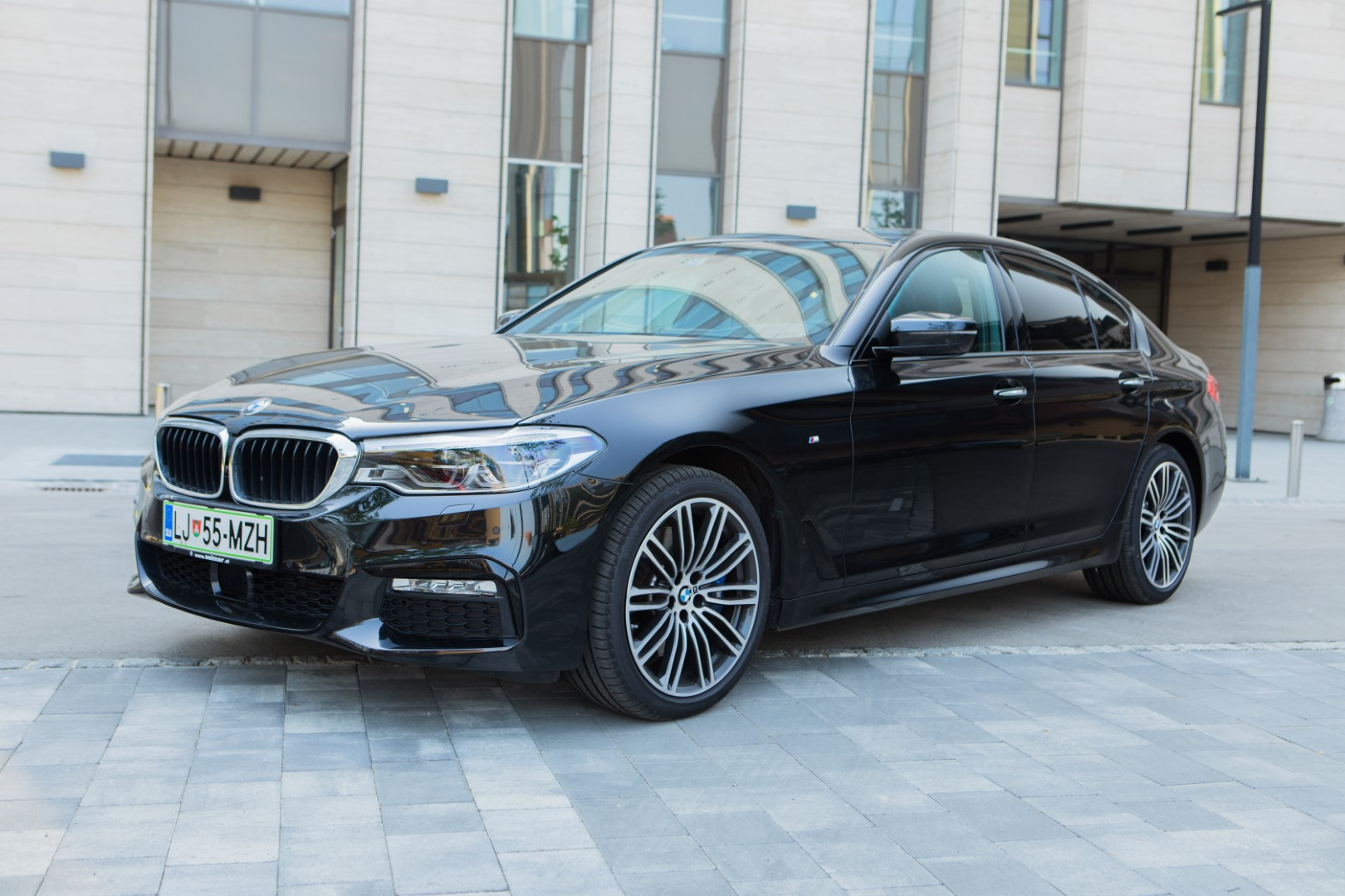 rental of BMW 5 Series or similar business-class cars