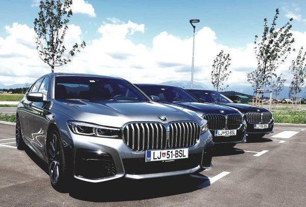 BMW serija 7 - Poslovni najem luksuznega avtomobila