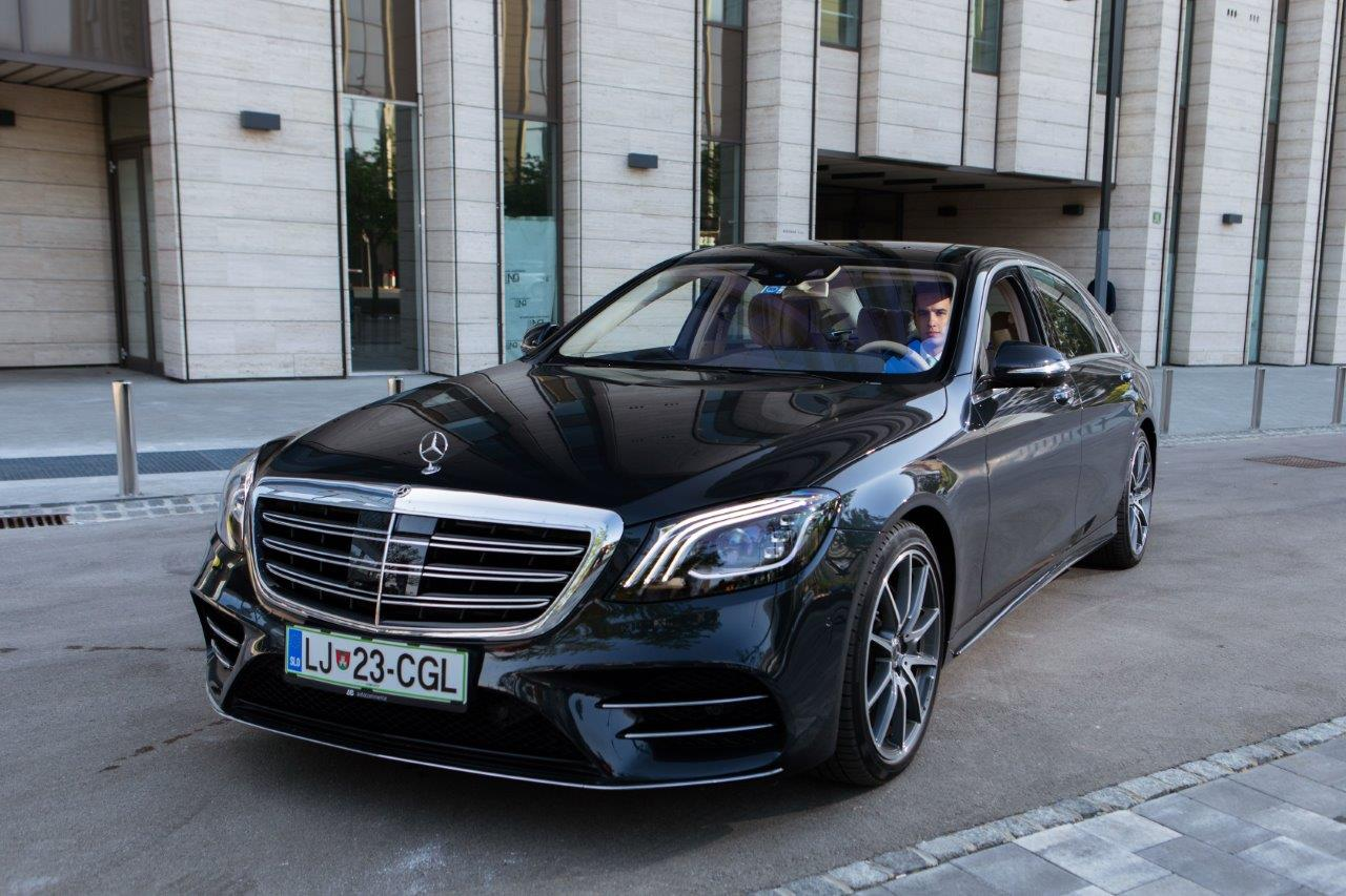 rental of Mercedes-Benz S Class or similar luxury-class sedans